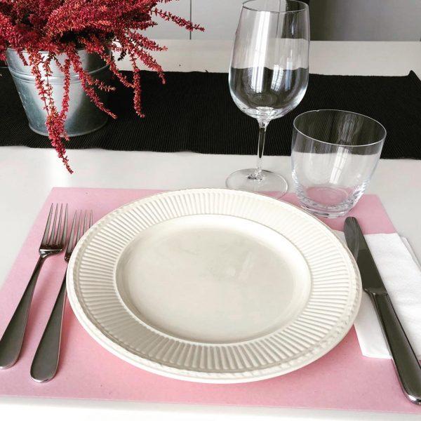 tovaglietta americana rosa