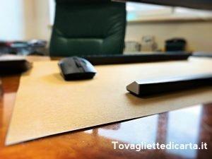 scrivania igienizzata