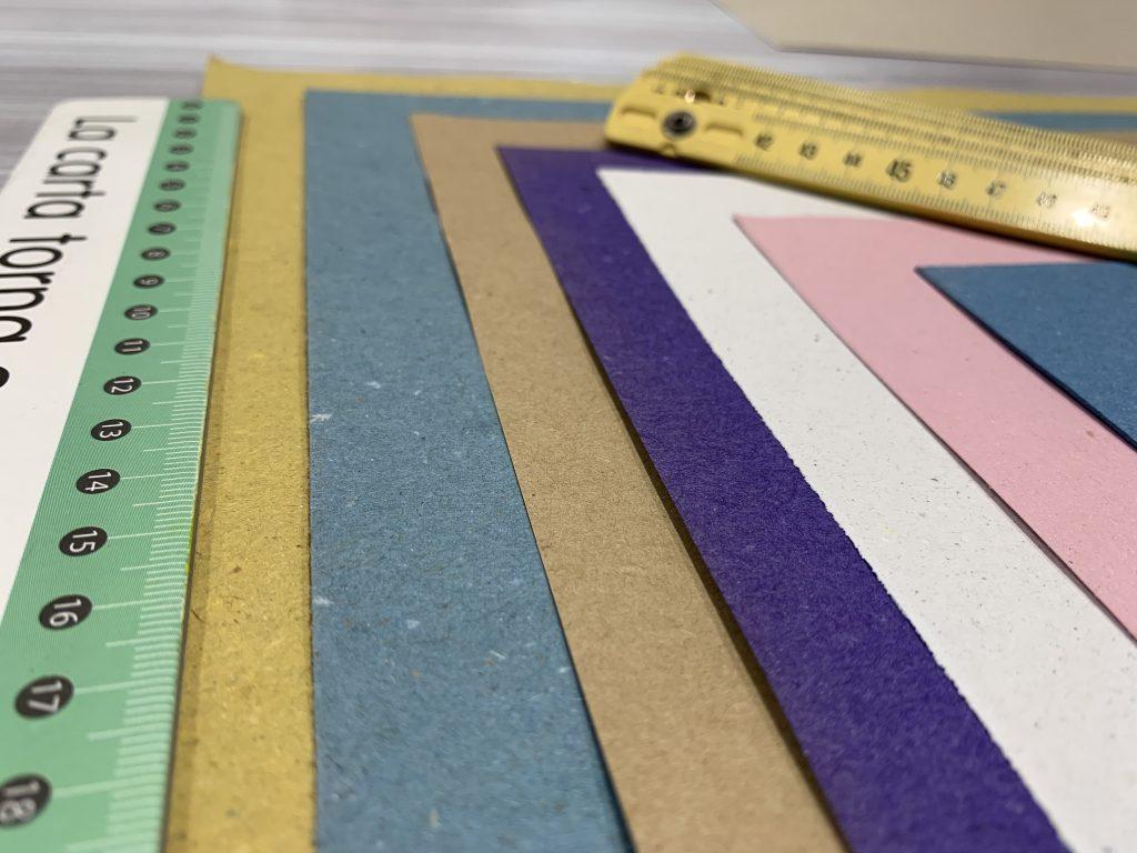 formati tovagliette di carta