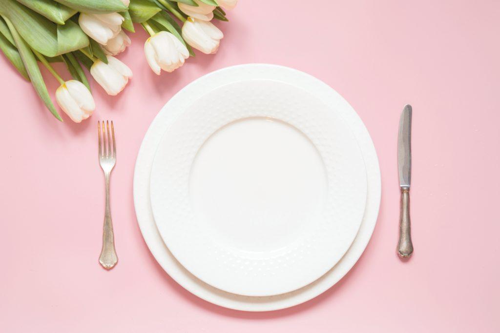 Tovagliette prima comunione rosa